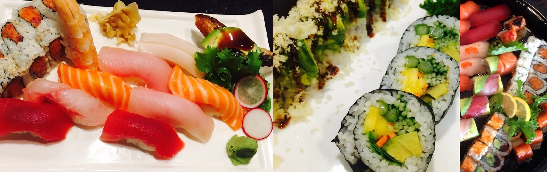 Your favorite Sushi at Watami Sushi